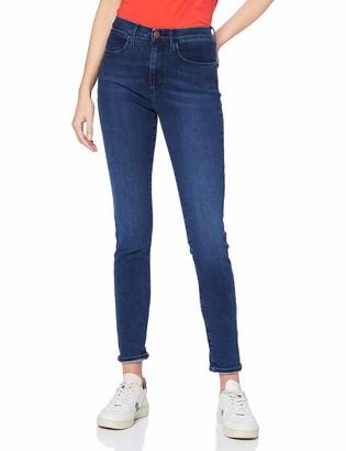 Wrangler Women's High Rise Skinny Indigood Jeans
