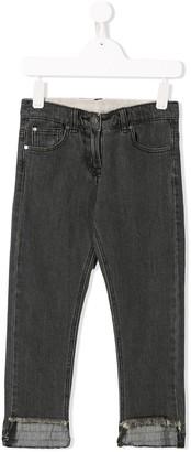 Stella McCartney Kids Straight-Leg Jeans