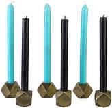 Pols Potten Hexagonal Brass Candleholder