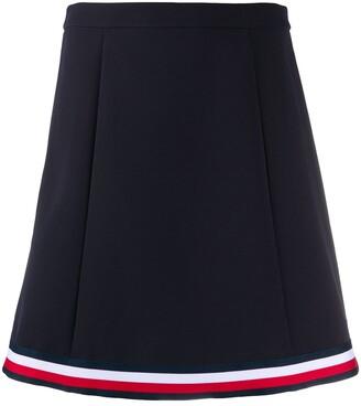 Tommy Hilfiger A-line mini skirt