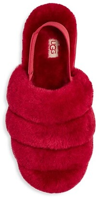 UGG Super Fluff Sheepskin Slippers