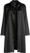 Eileen Fisher Recycled Satin Longline Jacket