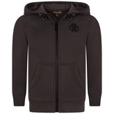 Roberto Cavalli Roberto CavalliBoys Charcoal Zip Up Top