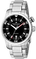 "Maurice Lacroix Men's ""Pontos"" Stainless Steel Automatic Watch"