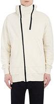 Nlst Men's Asymmetric Zip-Front Hoodie-White Size S