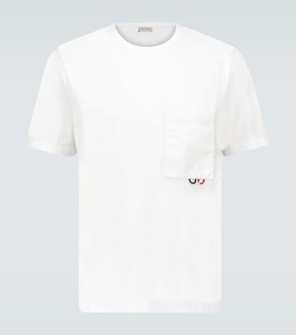 Moncler Cotton T-shirt with pocket