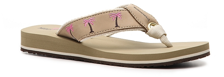 Margaritaville Women's Breezy Palm Tree Flip Flop
