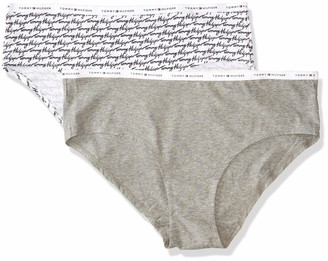 Tommy Hilfiger Women's Cotton Hipster Underwear Plus Size Panty Multipack