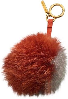 Fendi Grey Mink Bag charms