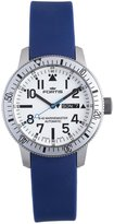 Fortis Men's 647.11.42 SI.05 B-42 Marinemaster Dial Automatic Date Blue Rubber Watch