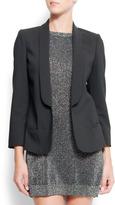 MANGO Smoking-style suit jacket