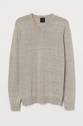 H&M V-neck cotton jumper
