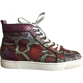 Christian Louboutin Python high-top sneakers