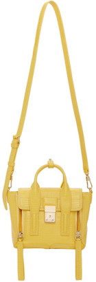 3.1 Phillip Lim Yellow Mini Pashli Satchel