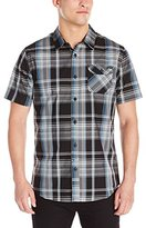 O'Neill Men's Emporium Plaid Short Sleeve
