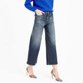 J.Crew Petite Rayner wide-leg jean in Keller wash