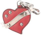 Prada Saffiano Heart Bag Charm