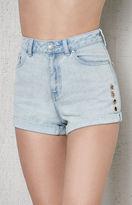 PacSun Charlene Denim Mom Shorts