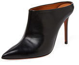 Leather Pointed-Toe Pump
