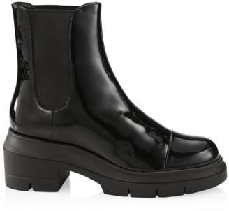 Stuart Weitzman Norah Lug-Sole Ankle Boots