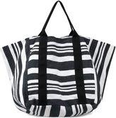 OLIVIA MILLER Olivia Miller Yana Multi Striped Bucket Tote Bag