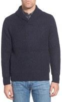 Schott NYC Regular Fit Shawl Collar Sweater
