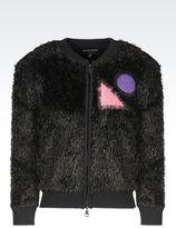 Emporio Armani Runway Cardigan In Wool Blend