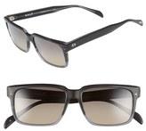 Salt Men's 'Wooderson' 55Mm Polarized Sunglasses - Brown Gradient/ Brown