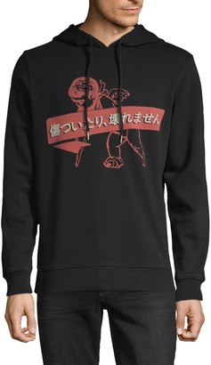 PRPS Graphic Cotton-Blend Hoodie