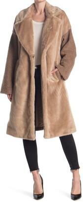 Nine West Faux Fur Coat