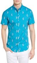 Bonobos Men's Slim Fit Seahorse Print Woven Shirt