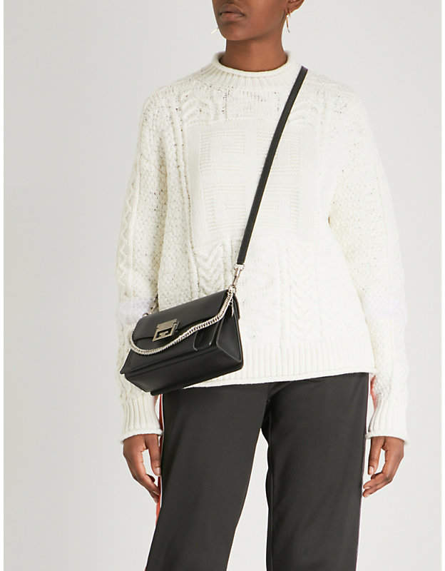 Givenchy Logo wool and cashmere-blend jumper