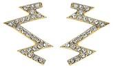 Swarovski Stella Valle for Target Women's Stella Valle for Target Shock Everyone Earrings with Crystals from Gold
