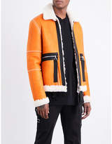 Blood Brother Ferrman reversible leather jacket