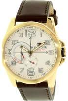 Tommy Hilfiger Gold-Tone Leather Chronograph Men's Watch, 1791003