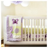 Pam Grace Creations Crib Bedding Set - Lavender Butterfly- 10pc