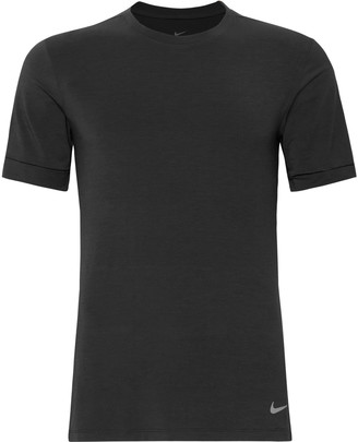 Nike Training Transcend Slim-Fit Dri-Fit Yoga T-Shirt