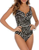 Miraclesuit One-Piece Hard to Be Leaf Escape Swimsuit