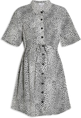 Topshop Grundge Shirt Dress
