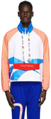 Reebok by Pyer Moss White Windbreaker Jacket