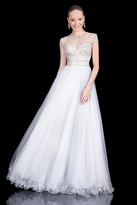 Terani Couture Unearthly Sweetheart Glistening Ball Gown 1615P1315