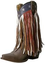 Roper Women's Americana Fringe Work Boot