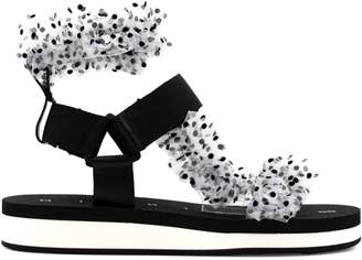 Midnight 00 Teva Dot-Print Ankle-Strap Sandals