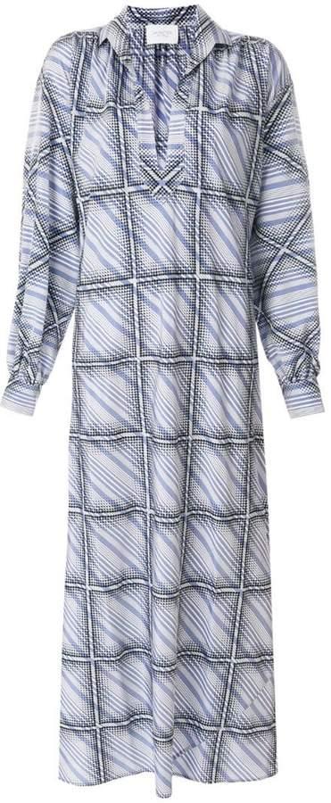 Giambattista Valli windowpane shirt dress