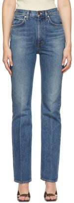 AGOLDE Blue Vintage Flare Jeans