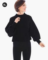Chico's Rib-Trim Sweater