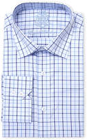 English Laundry Plaid Classic Fit Dress Shirt