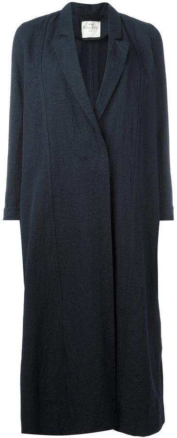 Forte Forte single breasted coat
