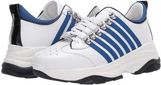 DSQUARED2 Bumpy 251 Sneaker (White/Blue) Men's Shoes