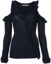 Jason Wu cut-out ruffle jumper